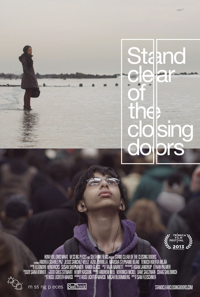 Stand Clear Of The Closing Door Poster