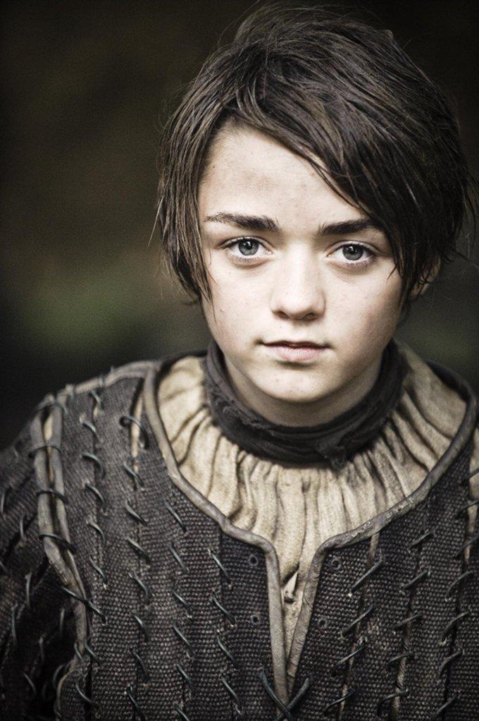 Game Of Thrones Maisie Williams skip crop