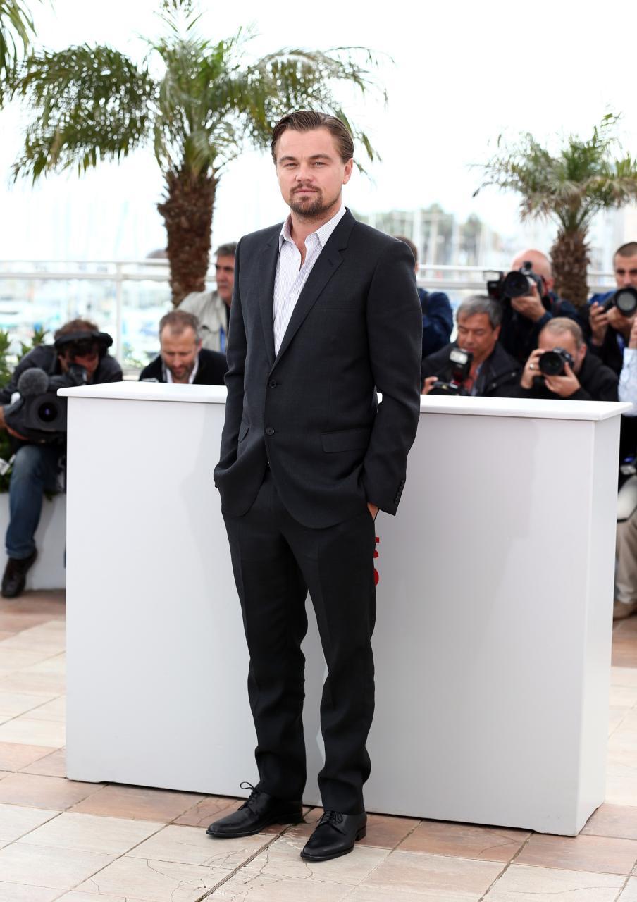 Leonardo DiCaprio in Cannes