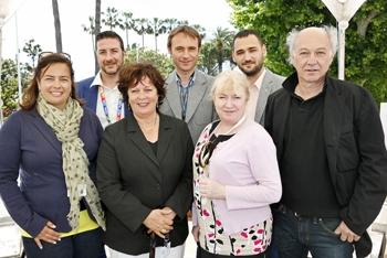 New EFP Board with Renate Rose, EFP Managing Director. From left to right: Françoise Lentz, Rafael Cabrera, Renate Rose, Christian J. Lemche, Teresa McGrane, Cristian Hordila, Martin Schweighofer. Not pictured: Mariette Rissenbeek.