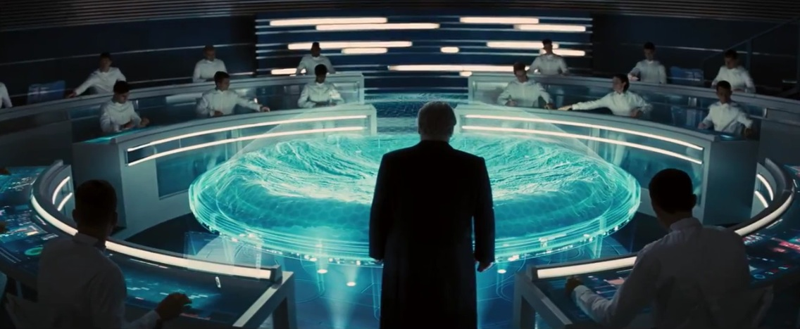 The best the worst of the hunger games catching fire for Futuristic control room