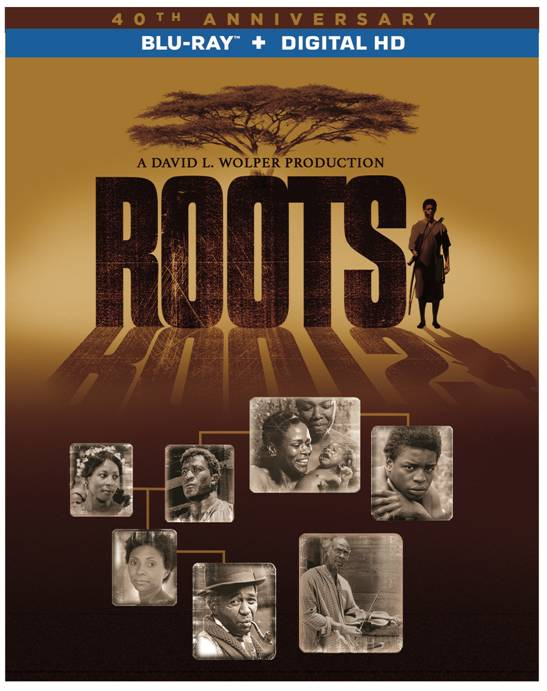 ROOTS Blu-ray Release Cover art