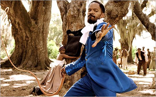 Django Unchained Jamie Foxx (skip)