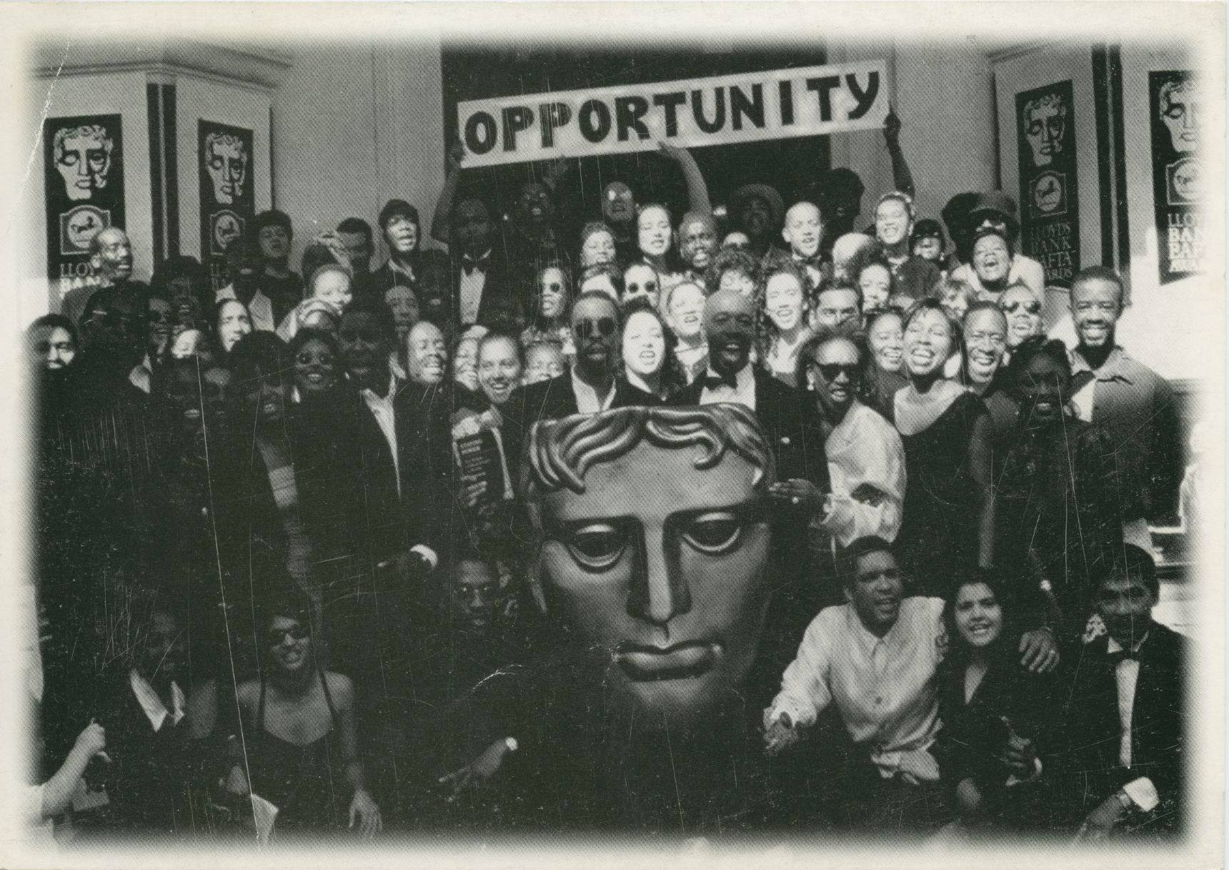 Throughout the 1990's Corizon Visual Network peacefully protested the BAFTA's three times about lack of #diversity and #opportunity within the film and tv industry