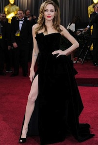 Angelina Jolie's legs