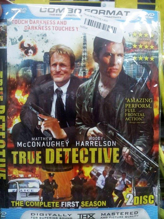 True Detective Bootleg DVD