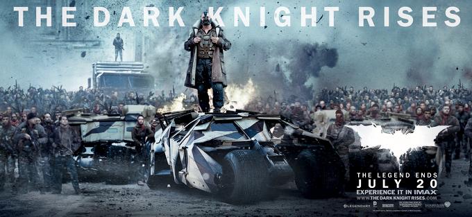 The Dark Knight Rises Banner Bane Tumbler