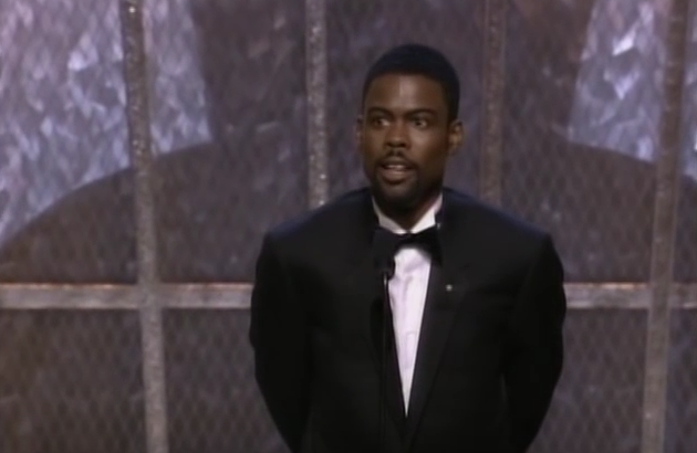 Chris Rock presenting at the 1999 Academy Awards