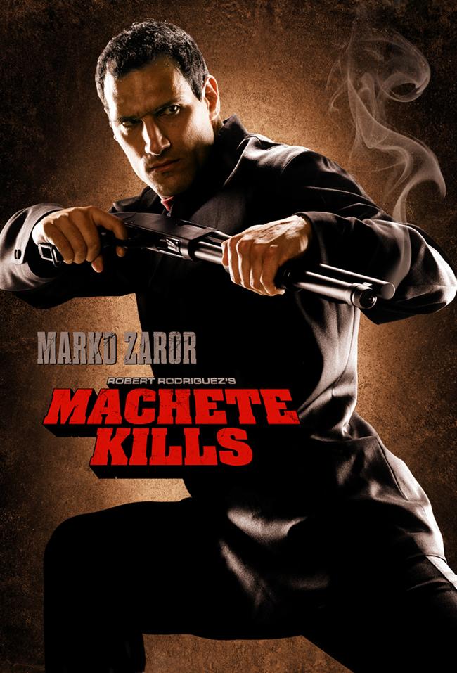 Marko Zaror Machete Kills Poster