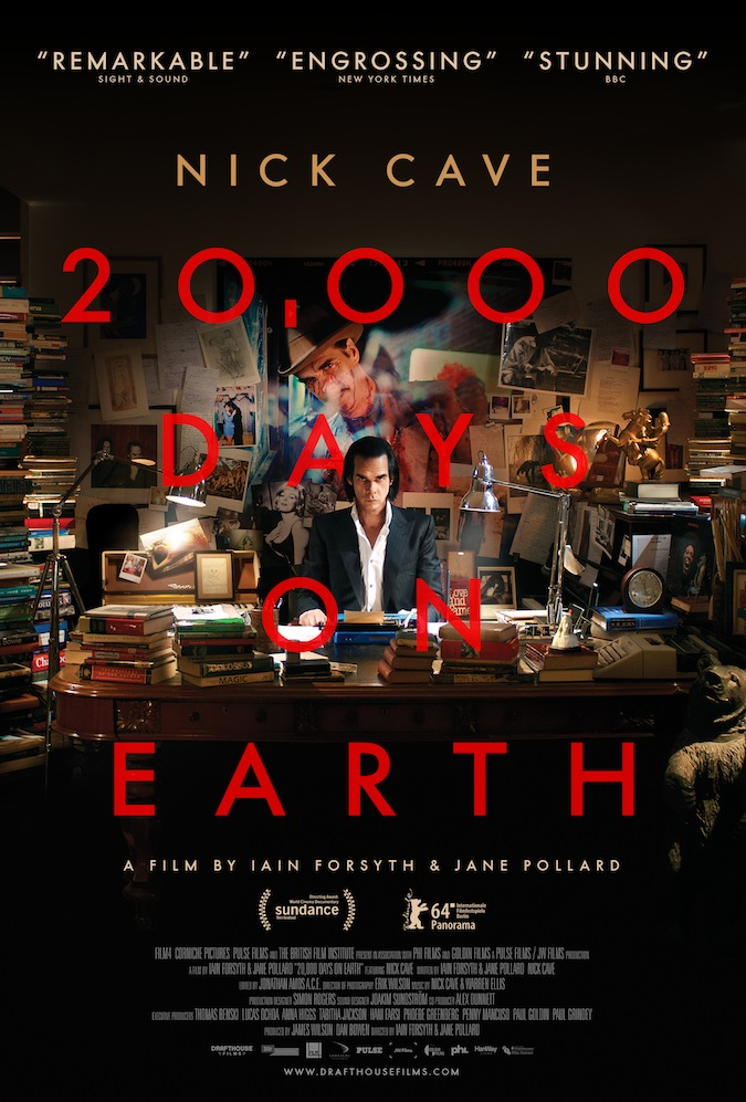 """20,000 Days on Earth"" Poster"