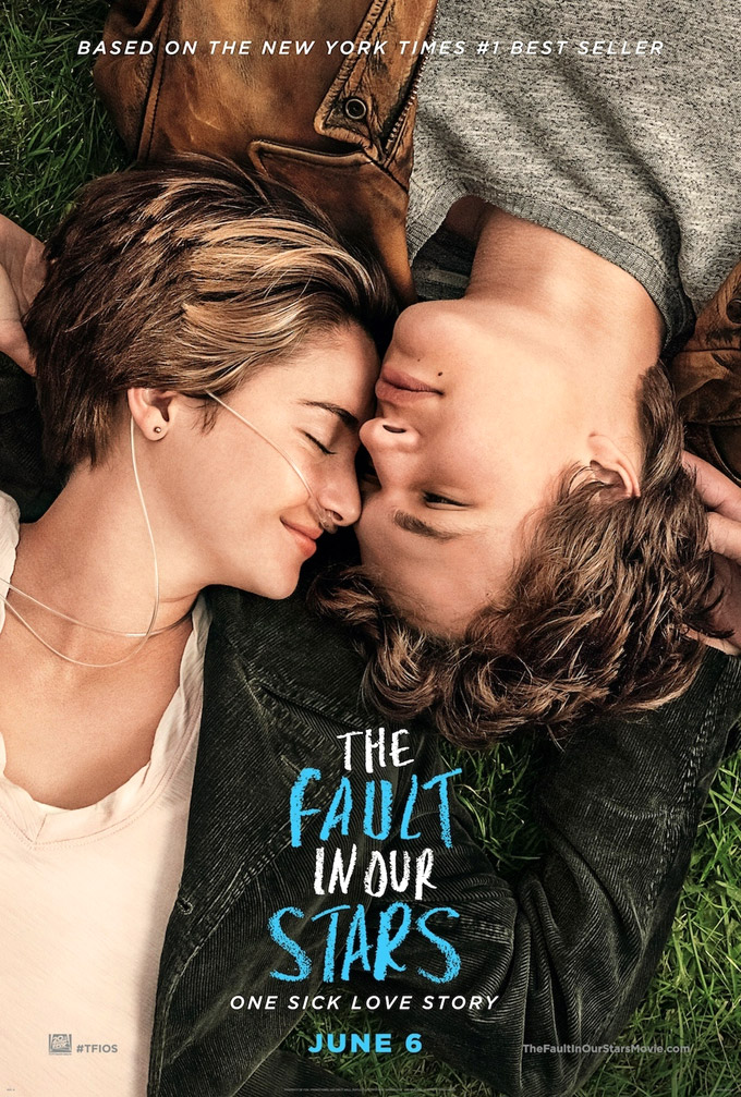 Fault of our stars, poster