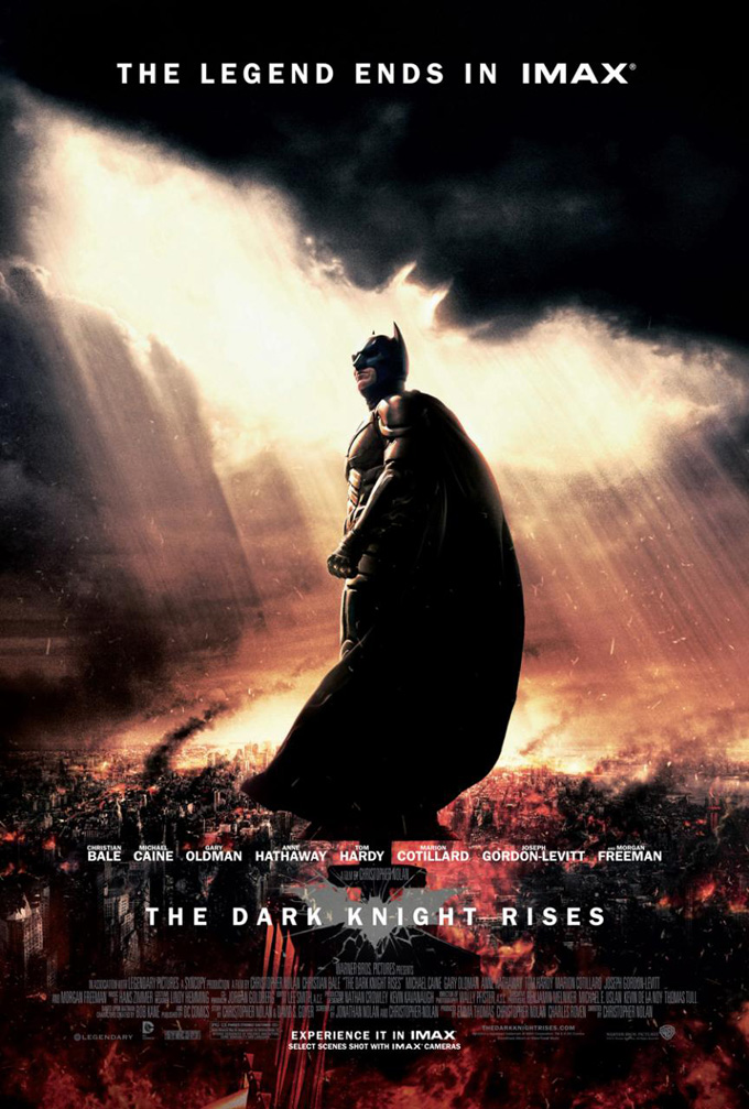 The Dark Knight Rises IMAX Poster