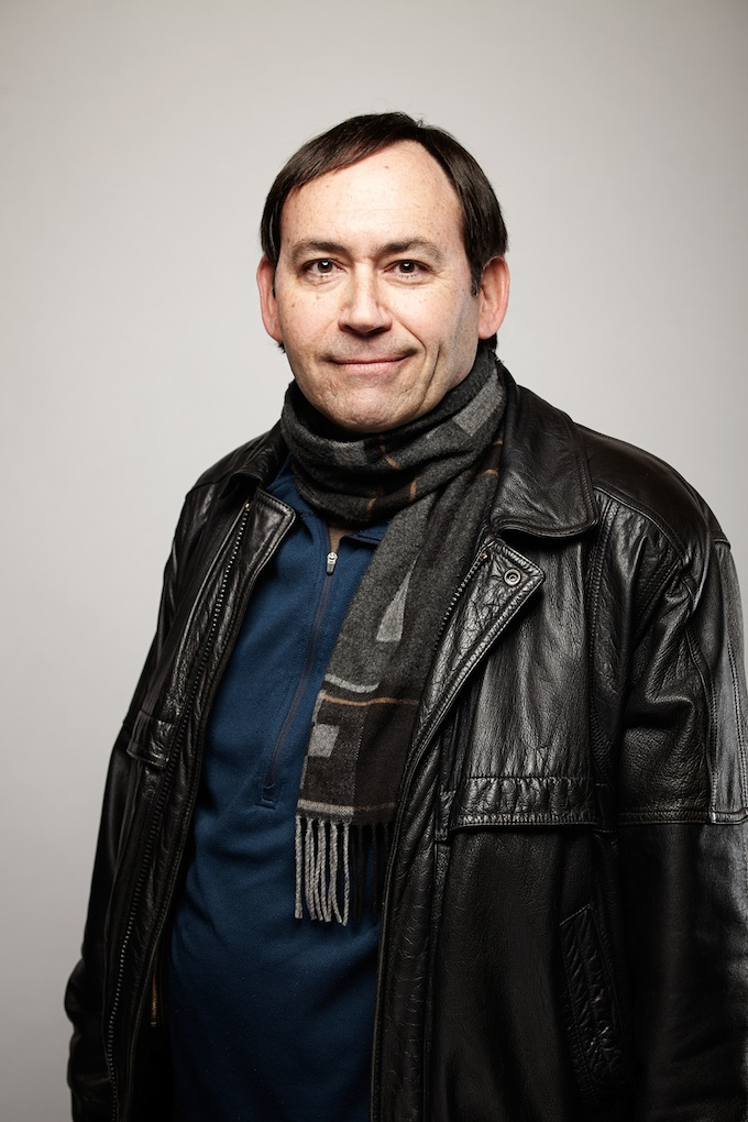 "Chris Million, cinematographer of ""To Be Takei"" at the Canon Craft Cocktails Portrait Studio at the 2014 Sundance Film Festival"