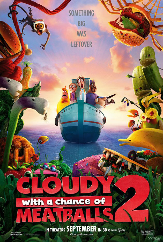 Cloudy With a Chance of Meatballs 2 poster (skip)