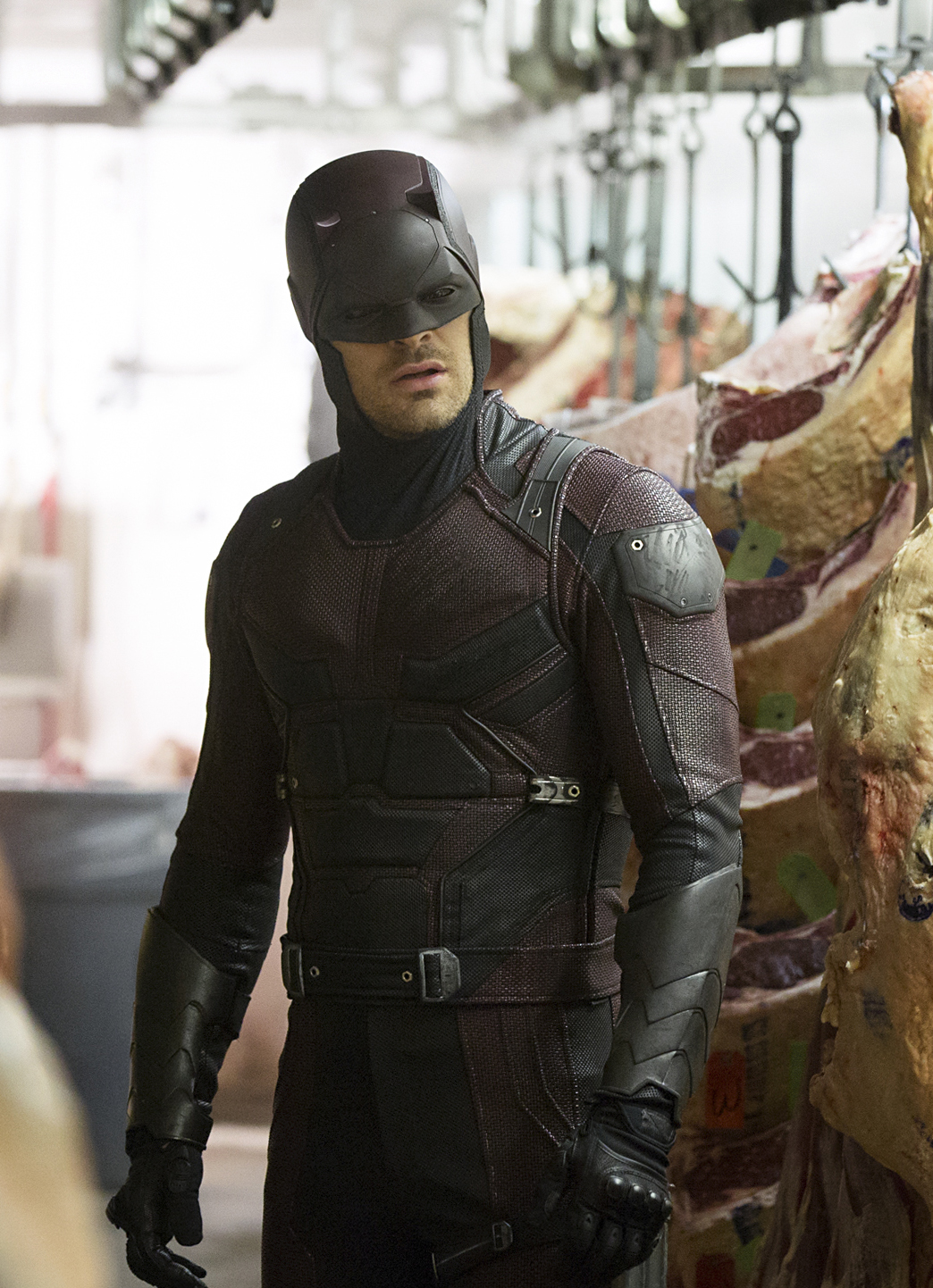 "Charlie Cox in ""Daredevil."""