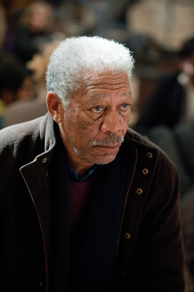 Morgan Freeman, The Dark Knight Rises
