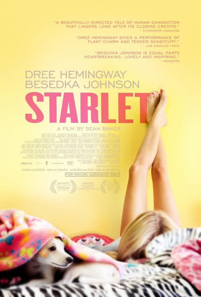 Starlet teaser poster