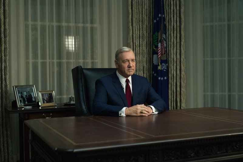 """House of Cards"" Season 4 Kevin Spacey"