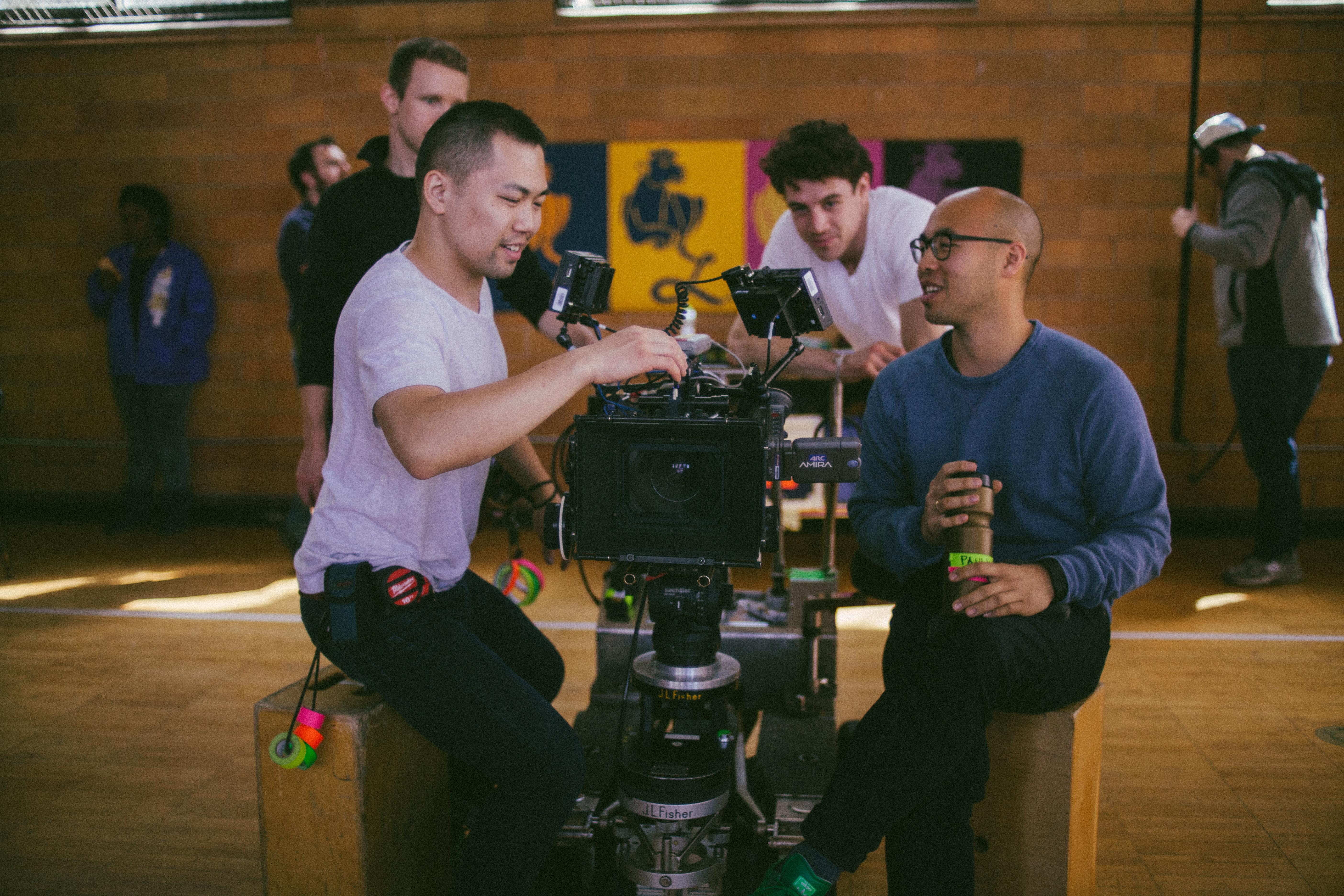 DP Paul Yee with A.C. Jason Chau and Steadicam Op Devon Catucci.