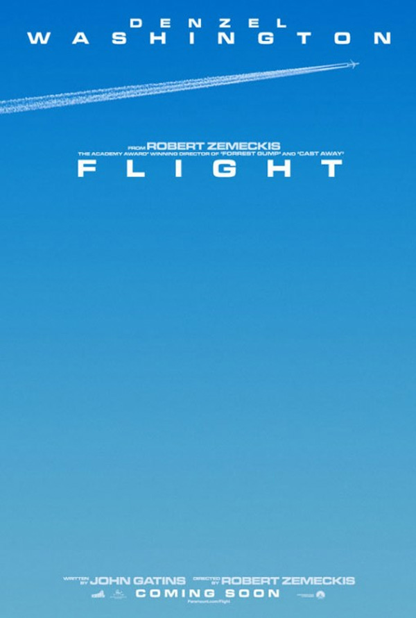 Zemeckis Flight Poster