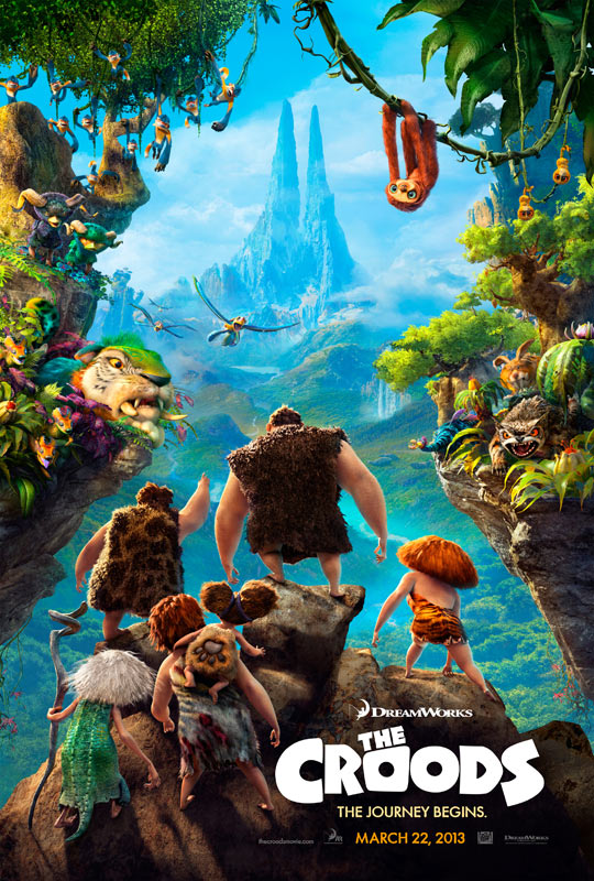 The Croods, poster (skip)