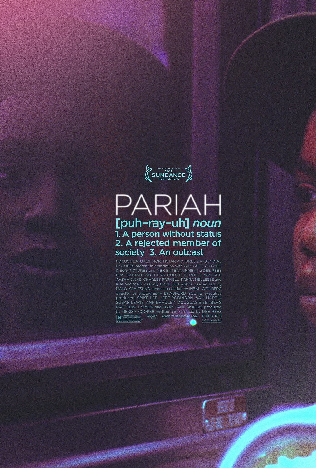 """Pariah,"" written and directed by Dee Rees"