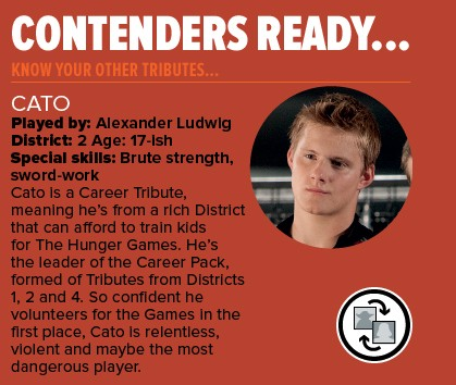 Hunger Games Cato Profile
