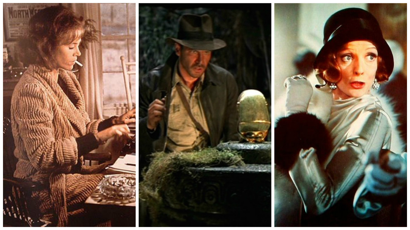 """""""Julia,"""" """"Raiders of the Lost Ark,"""" """"Travels With My Aunt"""""""