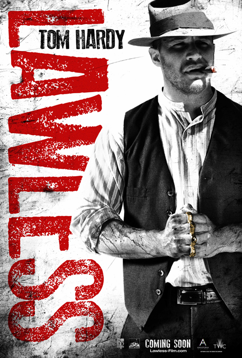 Tom Hardy, Lawless poster