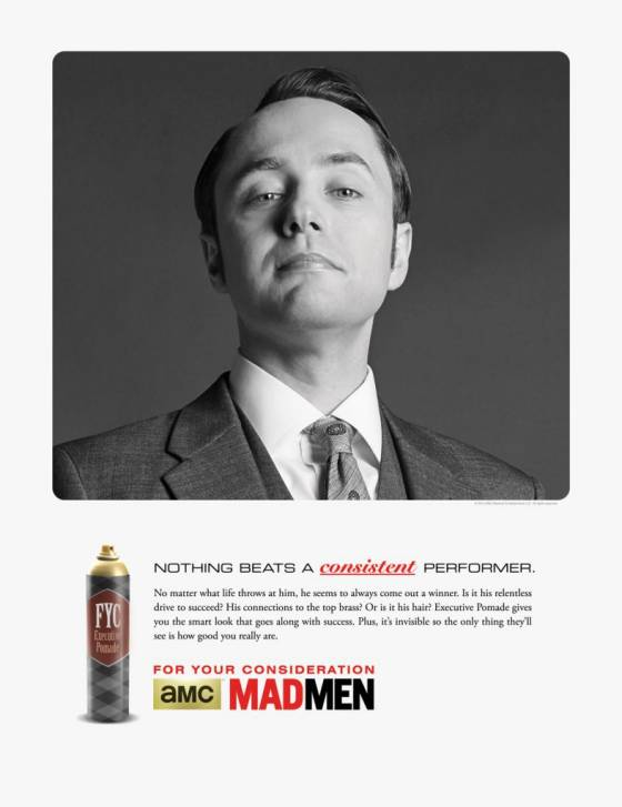 "Vincent Kartheiser ""For Your Consideration"" Poster"