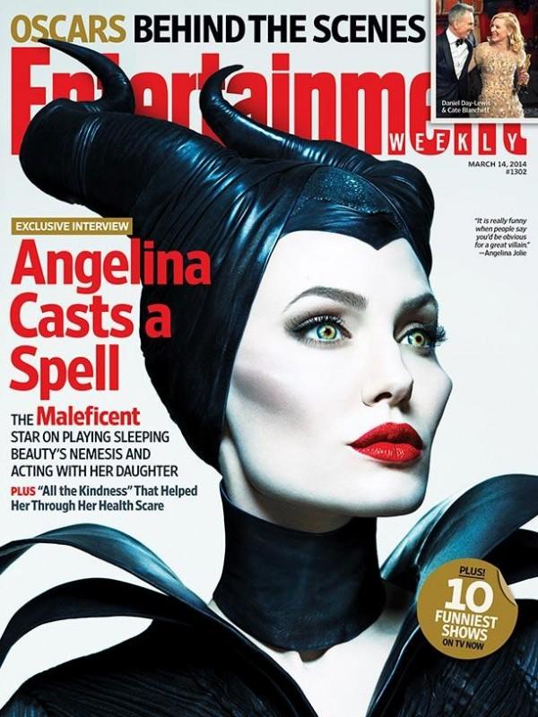 Maleficent, EW cover