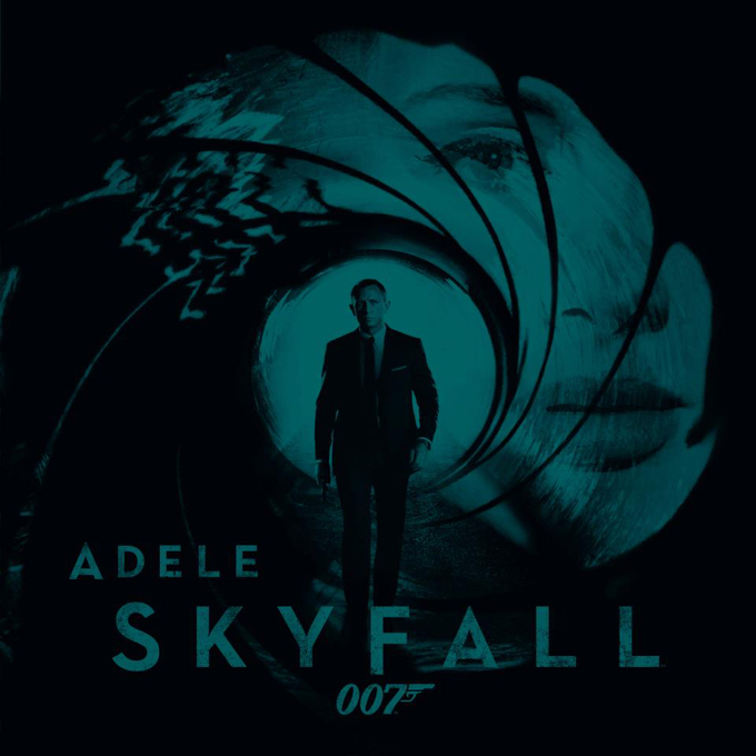 Adele Skyfall Artwork
