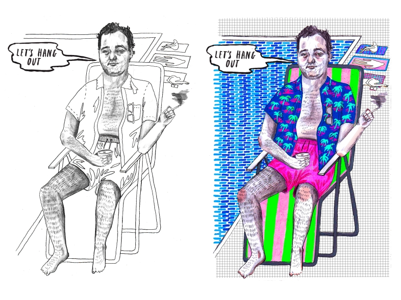 this - Bill Murray Coloring Book