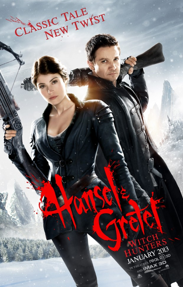 Hansel & Gretel: Witch Hunters poster skip crop
