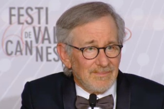 Steven Spielberg at the Cannes Film Festival.