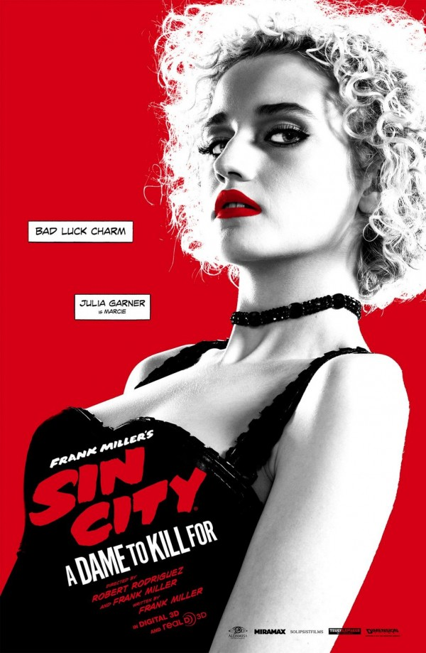 Sin City: A Dame To Kill For, character posters