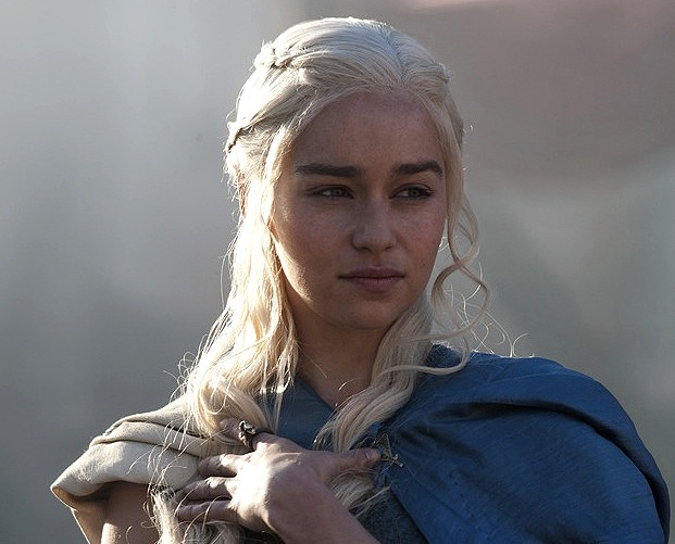 Mother of Dragons: Emilia Clarke as Daenerys Targaryen