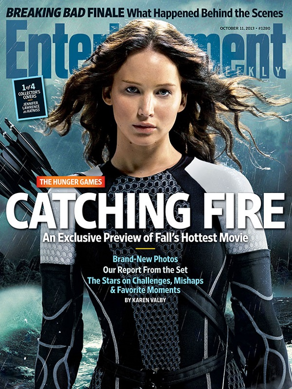 Jennifer lawrence gets emotional about hunger games catching this article is related to interviews and tagged entertainment weekly hunger games catching fire voltagebd Gallery