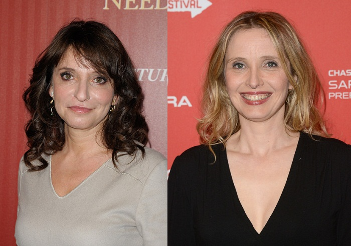 Susanne Bier and Julie Delpy