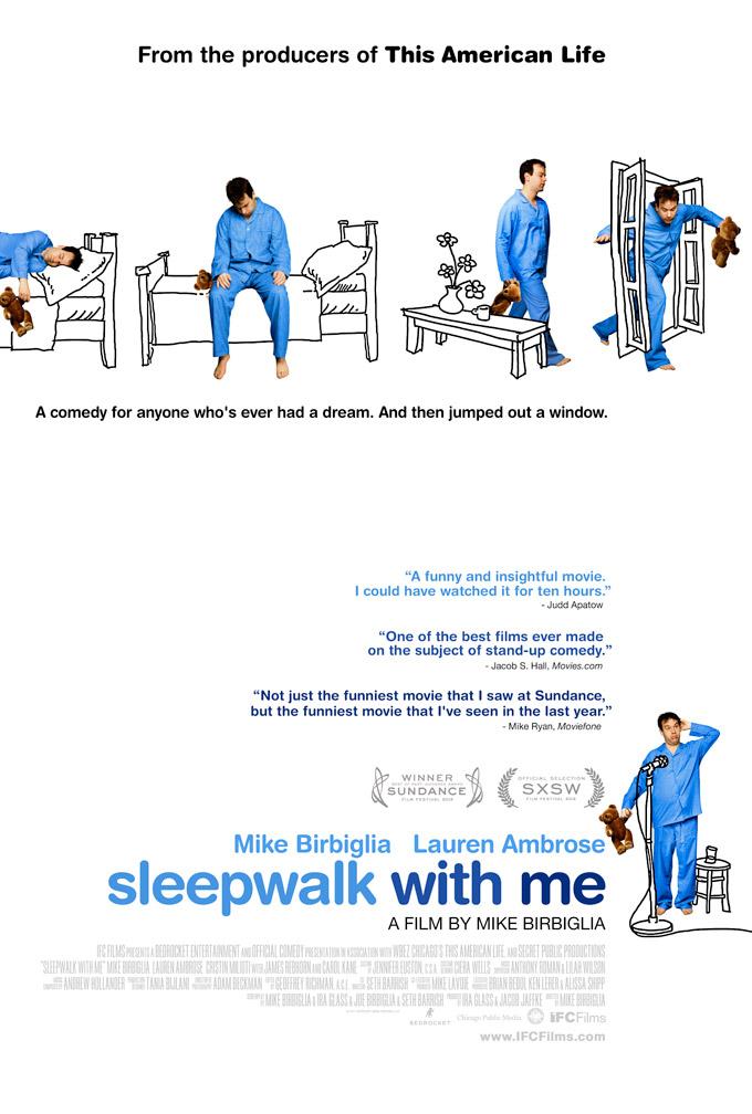 Sleepwalk with me, poster