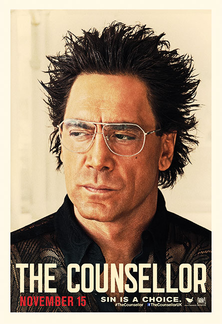 Counselor, Bardem ,character poster