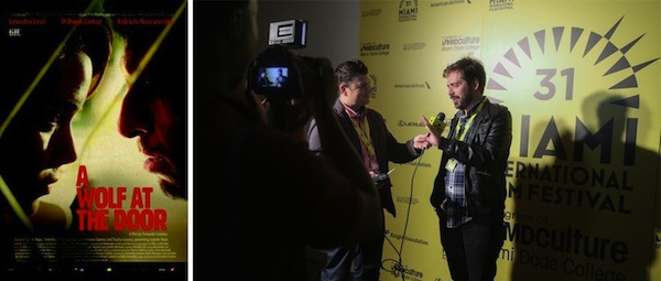 A Wolf at the Door, director Fernando Coimbra at MIFF 2014 at Regal South Beach