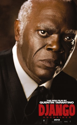 Django Unchained, Samuel L. Jackson character poster