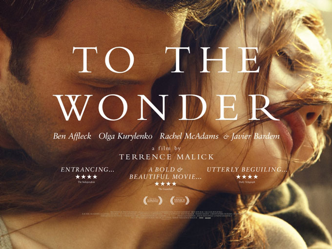 To The Wonder UK Poster