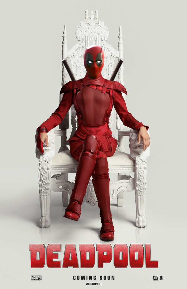 Deadpool film 2016 Marvel Comic Book