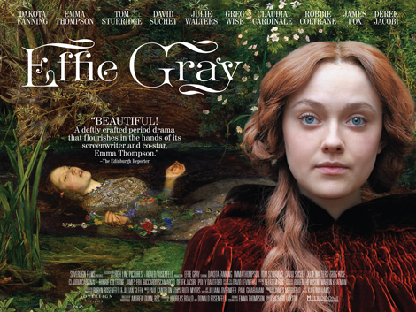 Effie Gray, poster