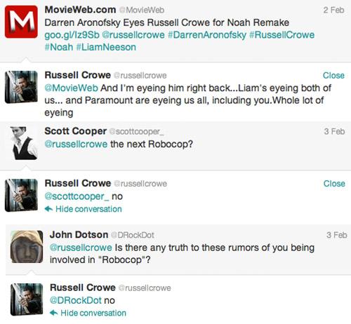 Crowe Twitter