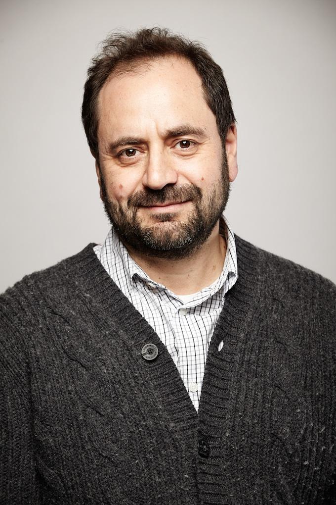 "Antonio Rossi, cinematographer of ""Freedom Summer"" at the Canon Craft Cocktails Portrait Studio at the 2014 Sundance Film Festival"
