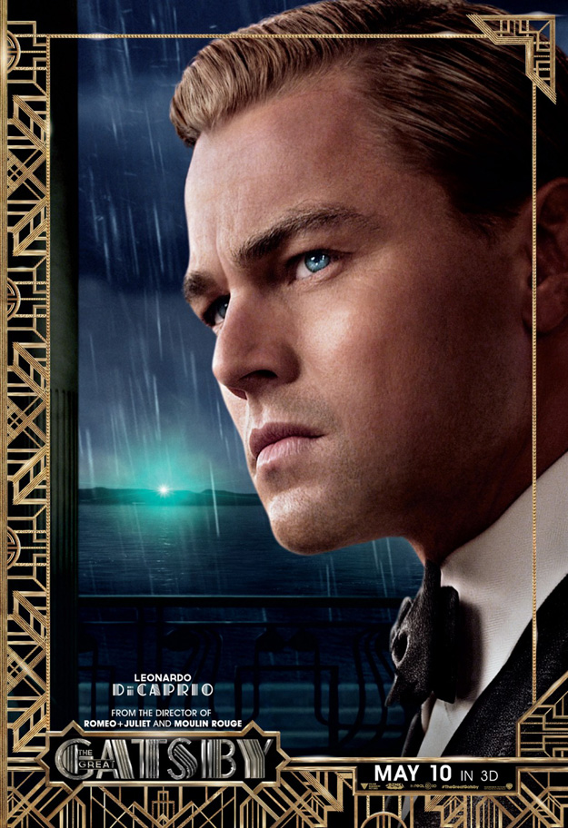 Gatsby Character poster, DiCaprio (skip)