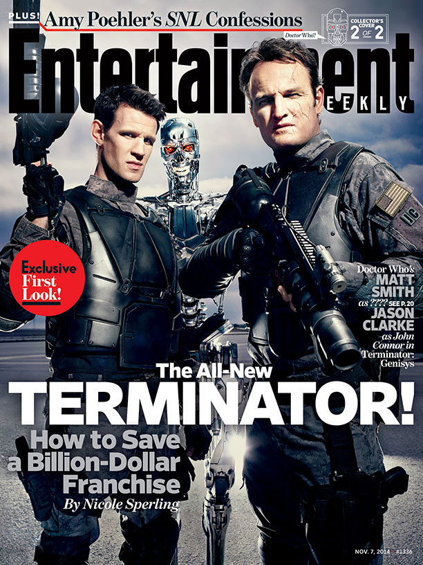 Terminator: Genisys Entertainment Weekly Cover